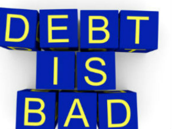 Avoid getting into Debt