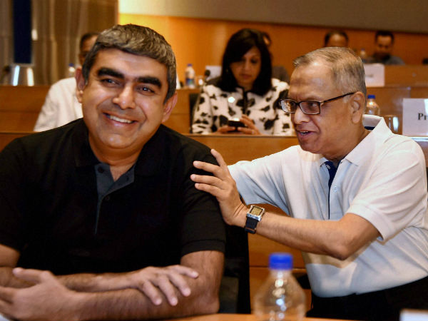 Infosys Q2 Net Profits At Rs 3398 Crores; CFO Bansal Resigns