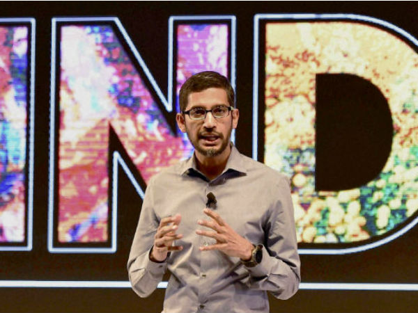 India To Be Bigger Market Than US For Google In 2016: Pichai
