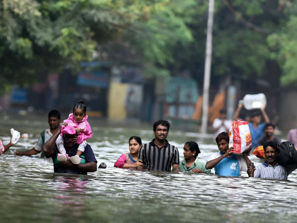 Banks Told To Help Flood Victims In Tamil Nadu