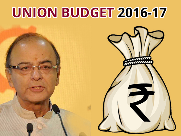 Highlights Of Union Budget 2016