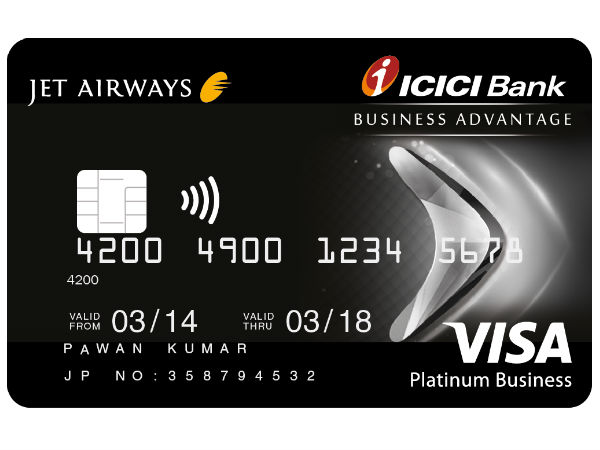 Jet airways icici bank business advantage card smart things to business advantage card smart things to know reheart Image collections
