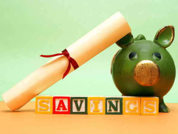 3) Pay from the savings
