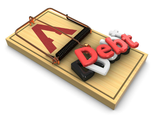 Don't pay off debts