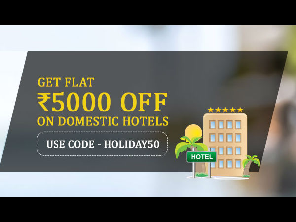 LONG INDEPENDENCE DAY WEEKEND! Get Flat Rs 5000 Off On Domestic Hotel Bookings