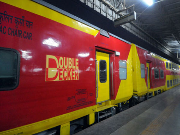 Railway To Launch Double-Decker AC Trains With Large Screens