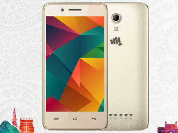 Vodafone-Micromax Launch 4G Phone At Rs 999