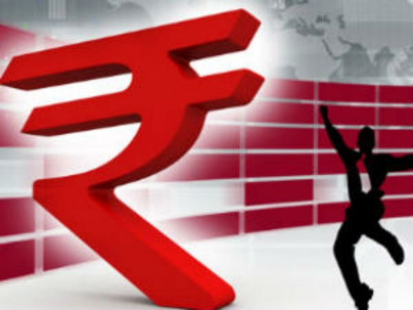 Rupee jumps one per cent
