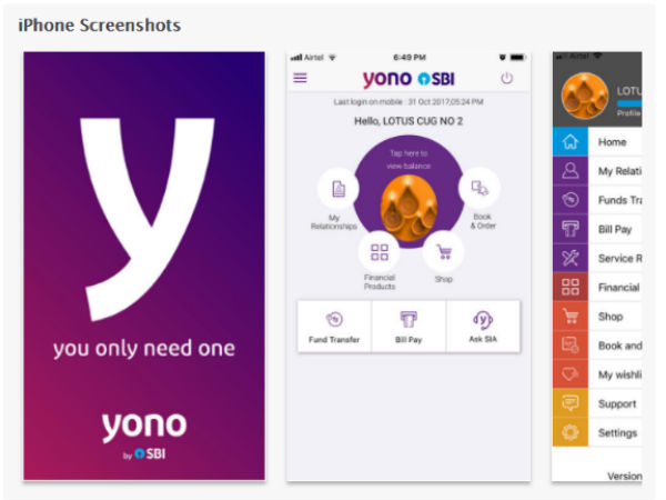 YONO for new customers
