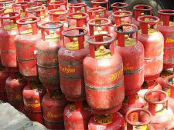 Non-subsidized LPG cylinder prices