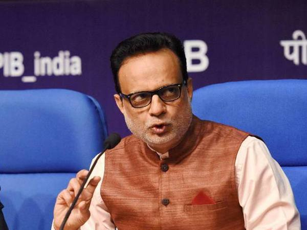 Dr. Hasmukh Adhia, Finance Secretary (in charge of Department of Revenue)