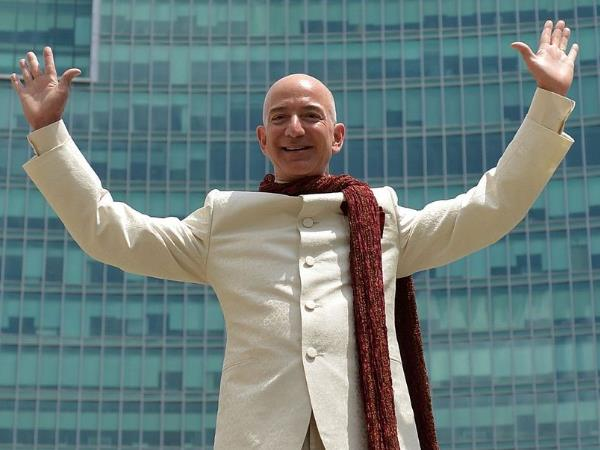 Amazon's Jeff Bezos Tops Bill Gates To Be The Richest Person