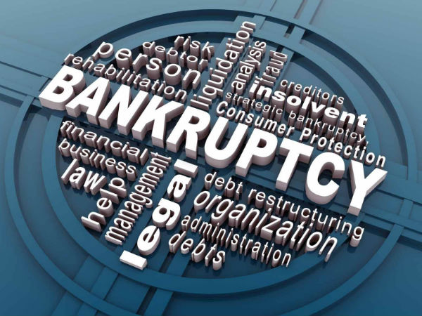 How did the term Bankruptcy evolve?