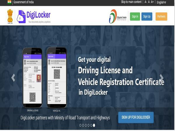 Ministry of Road Transport and Highways Partners with DigiLocker