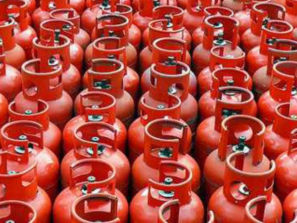 Subsized 14.2kg cylinder rates in metros