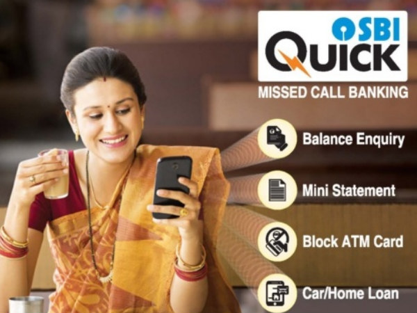 SBI Quick: How to Use SBI's Missed Call Service?