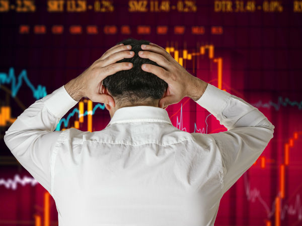 Sensex Crashes 500 Pts As TDP Moves No Confidence Motion
