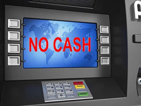 ATMs Across India Are Reporting Cash Crunch