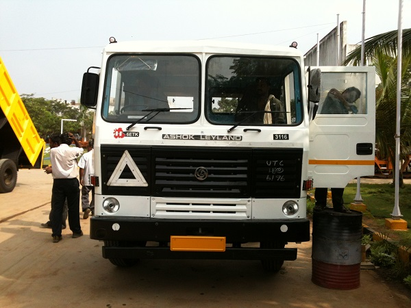 Ashok Leyland sales increases
