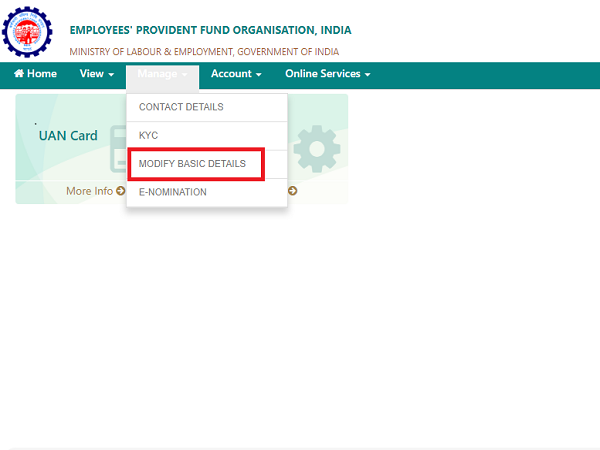 How To Correct EPF Name And Other Personal Details Online?