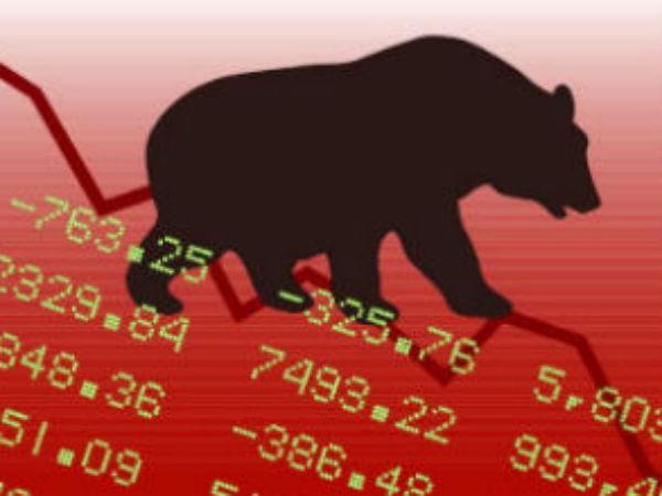 Sensex Opens Lower On Global Market Turmoil