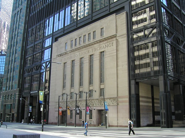 9. Toronto Stock Exchange (1852)