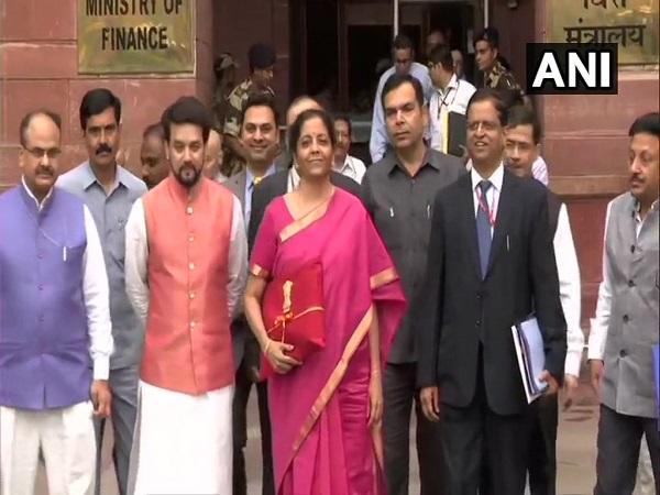 Nirmala Sitharaman Replaces Tradition Of Carrying Budget Bri