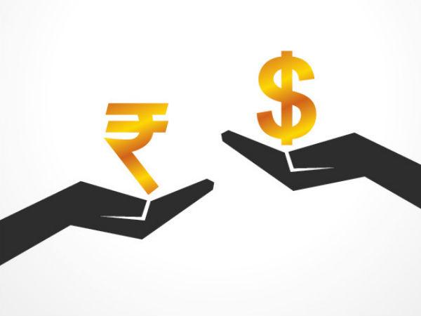 Rupee Trades Tad Lower At 68 57 Us Dollar