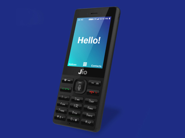 Reliance Offers JioPhone At Half Price In Diwali Offer