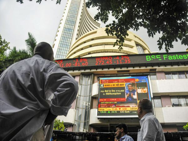 Markets Trade Lower; Sensex Falls Below 39,600 Points