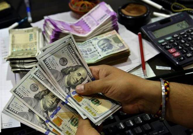 Rupee Opens Higher At 71.82