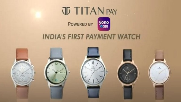 Titan Pay: Titan And SBI Partner To Launch Contactless Payment Watches