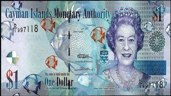Position 7: Cayman Islands Dollar