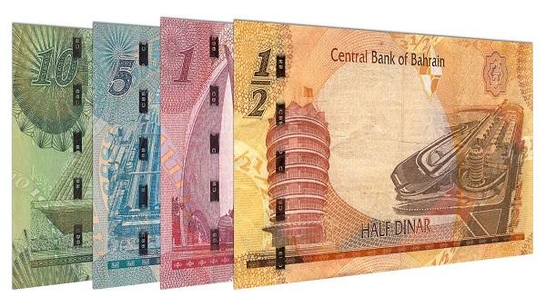 Position 2: Bahraini Dinar