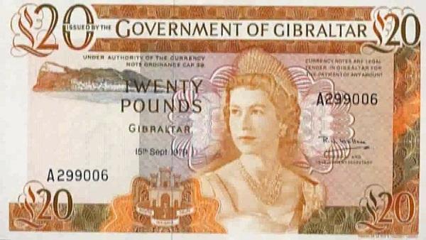 Position 6: Gibraltar Pound