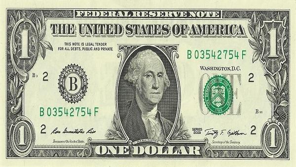 Position 10: US Dollar