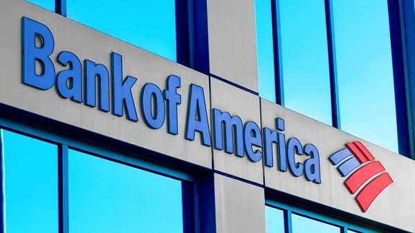 8) BANK OF AMERICA