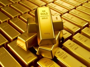 Gold Up As Us Dollar Declines