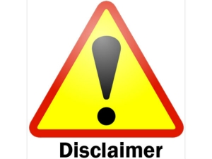 Why We Should Pay Heed Disclaimers