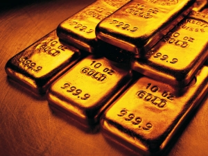 Gold Up On Global Political Tension