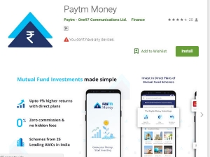 How Invest Mutual Funds Using Paytm Money App