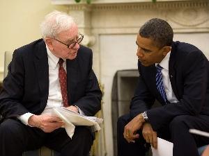 Buffett Tells Congress Raise Taxes