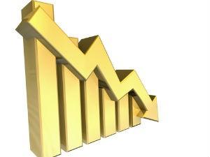 International Gold Edges Lower Strong Dollar Weighs