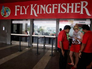 Kingfisher Airlines Shares Drop 3 Pcon Licence