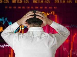 Sensex Sinks 900 Points On Global Market Meltdown