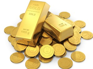 Gold Up 8th Straight Day As Global Equities Dive