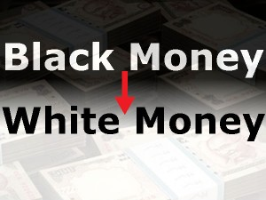 Different Ways Convert Black Money Into White