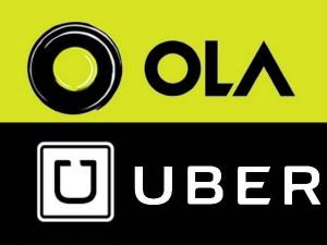 Ola Uber Cab Aggregators Merge