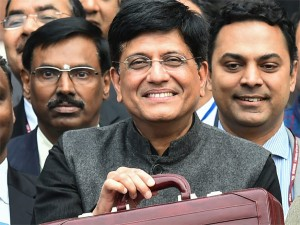 Interim Budget 2019 Goyal Sounds The Poll Bugle With Sops