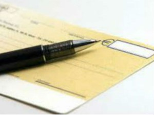 Deposit Cheque Of Any Amount In Your Small Savings A C At No